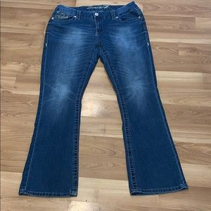 SEVEN7 slim boot jeans size 16